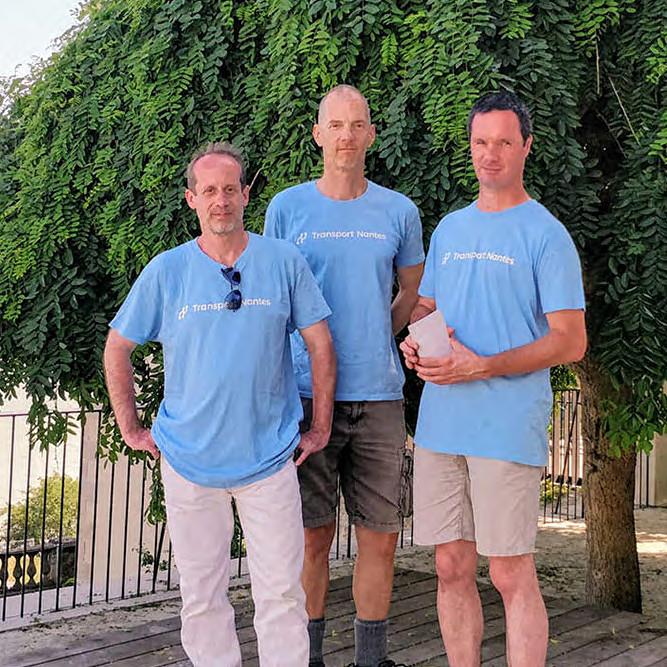 trois benevoles Mobilitains
